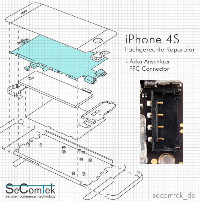 Iphone S Akku Connector Reparatur